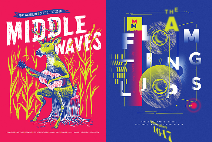 Middle Waves Poster Show