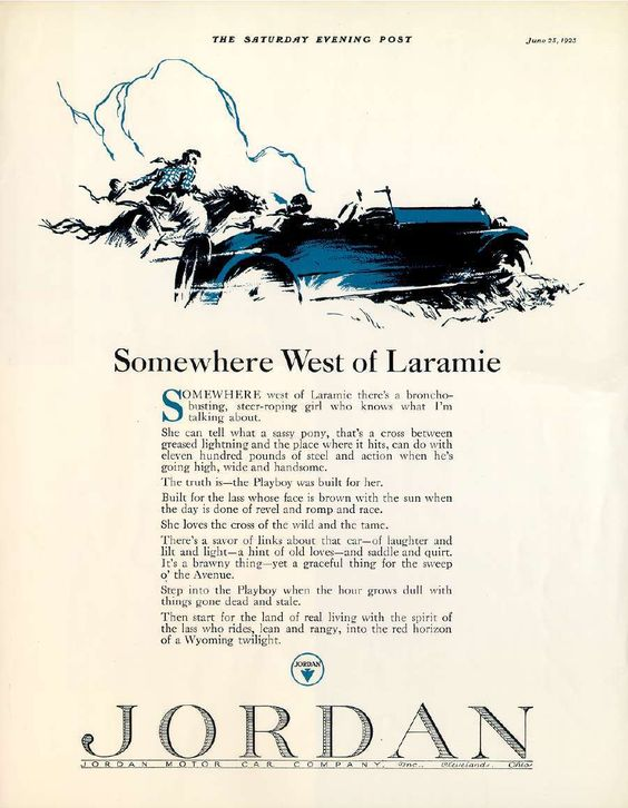 This ad kicked off a new era of advertising.