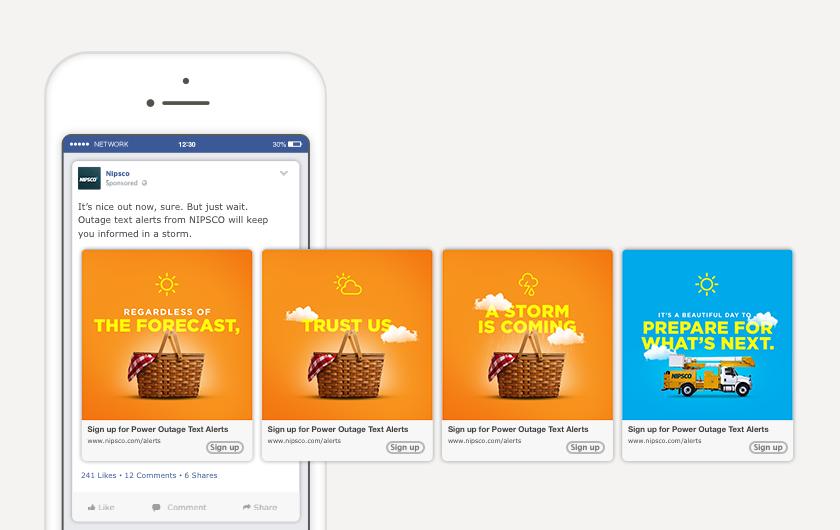 Good Weather Facebook Carousel